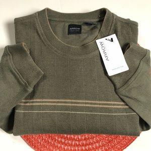 Arrow marled knit sweater